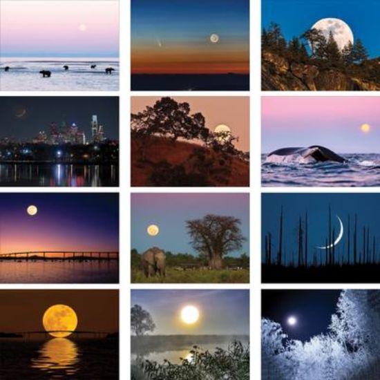 Picture of The Old Farmer\'s Almanac Moon - Stapled Calendar