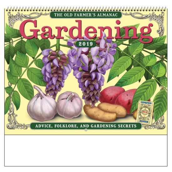 Picture of The Old Farmer\'s Economical Almanac Gardening Wall Calendar - Spiral