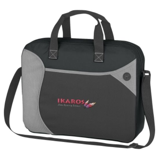 Picture of Wave Non-woven Briefcase/Messenger Bag